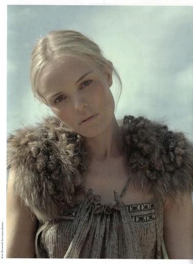 Kate Bosworth es la nueva imagen de Vanessa Bruno en la campaña Otoño-Invierno 2011/2012