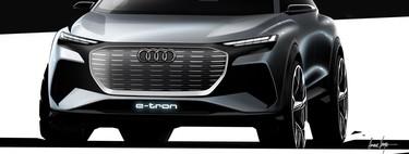 Audi enseña tímidamente cómo será el Audi Q4 e-tron, su próximo compacto eléctrico asequible