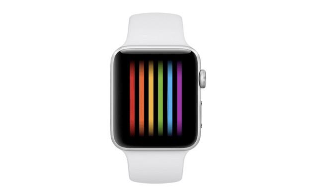 El código fuente de watchOS 4.3.1 desvela una nueva esfera para el Apple Watch inspirada en la bandera LGBT