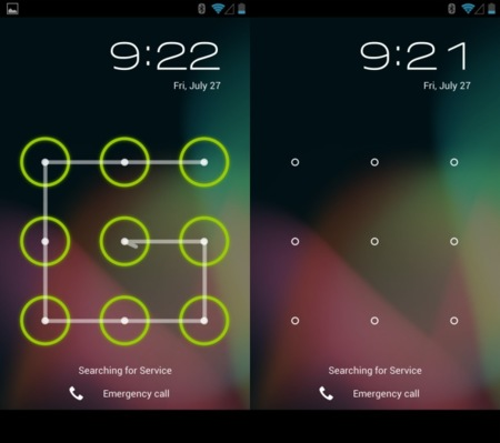 Android 4 lock screen