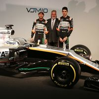 Force India presenta el VJM10 de Sergio Pérez y Esteban Ocon