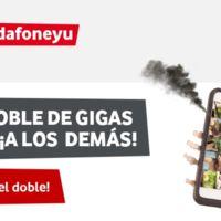 Vodafone también ofrecerá doble de gigas durante el verano en sus tarifas prepago