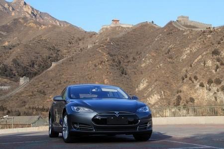 Tesla Model S Muralla China Ventas