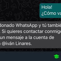 Me voy a Telegram: configura una respuesta automática en WhatsApp o Messenger en Android para decirlo