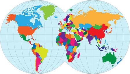 Mapa de los mejores hoteles del mundo