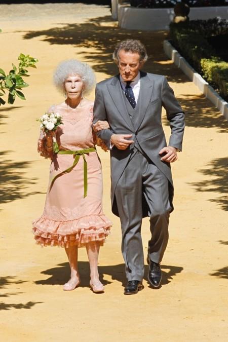 En su boda con Alfonso Díez