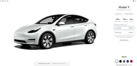 Tesla Model Y Configurador Eeuu