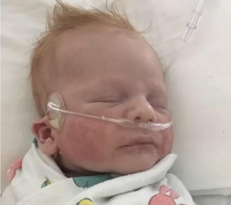 Garrett en el hospital