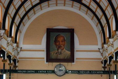 La Oficina Central de Correos de Ho Chi Minh City