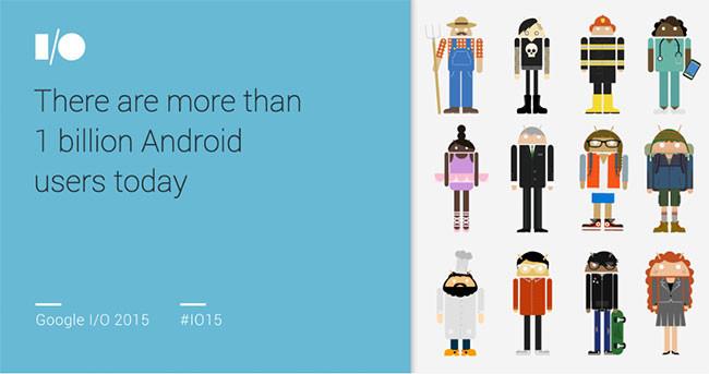 Los números de Google Play en un año: 1.000 millones de usuarios, 50.000 millones de descargas