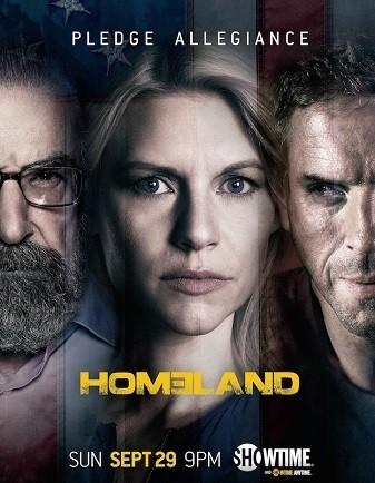 'Homeland', elegante tráiler musical y atractivo cartel de su tercera temporada