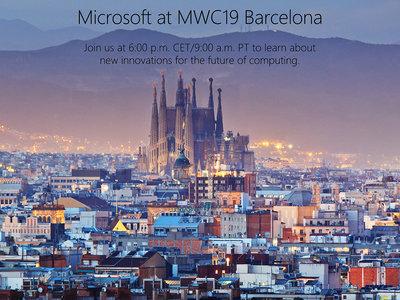 Microsoft ya anuncia su evento en directo desde Barcelona para anunciar novedades ¿nuevos dispositivos a la vista?