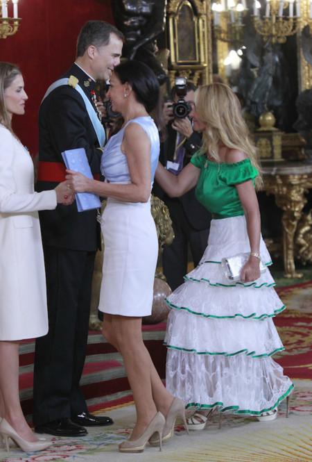 Las peor vestidas de la proclamación de Felipe VI como nuevo Rey de España