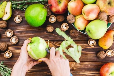Gadgets Utensilios Cocina Pelador Papas Como Usarlo Para Otras Creaciones Gastronomia Manzana