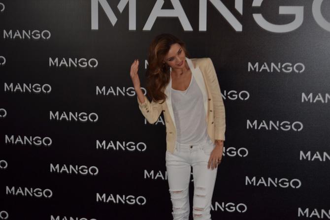 Foto de Miranda Kerr para Mango, rueda de prensa (5/16)