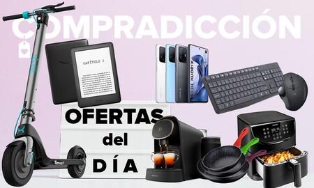 Ofertas del día en Amazon: smartphones Xiaomi, patinetes Cecotec, menaje San Ignacio y Bergner o periféricos Logitech a precios rebajados