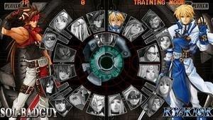 Guilty Gear PSP, capturas de pantalla