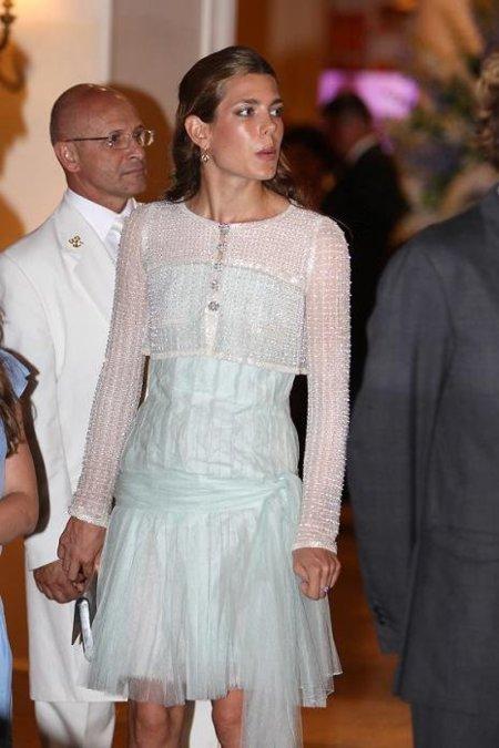 Carlota Cashiraghi, divina de Chanel en la boda de su tío