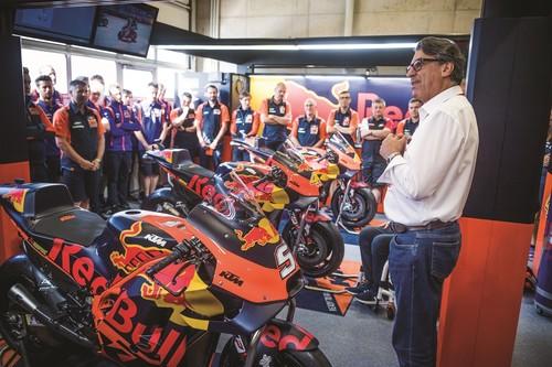 """KTM abandona Moto2 a partir de 2020 dentro de una """"reestructuración proactiva"""" de sus planes en MotoGP"""