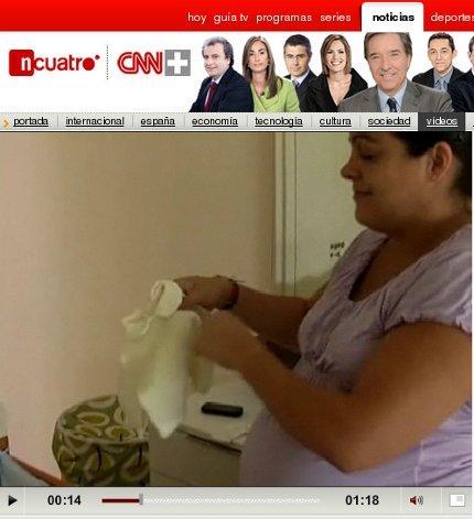 Testimonio de una embarazada que ha superado la gripe A