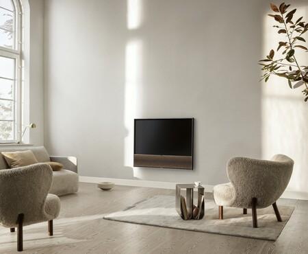 Beovision Contour: pantalla OLED 4K a 120 Hz y una barra de sonido integrada en 48 pulgadas de diagonal