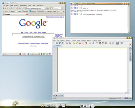 Solaris 10 screenshot