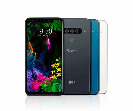 LG G8s ThinQ: un versión con cámara triple y reconocimiento de la palma de la mano
