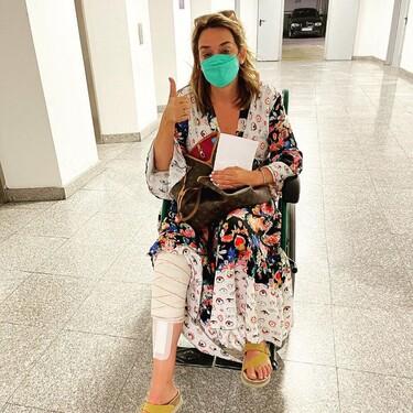 Toñi Moreno entra en los 48 años con muy mala pata: acaba en silla de ruedas por culpa de un aparatoso accidente