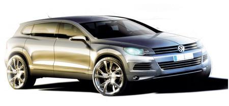 Volkswagen mostrará en Detroit un todoterreno de siete plazas