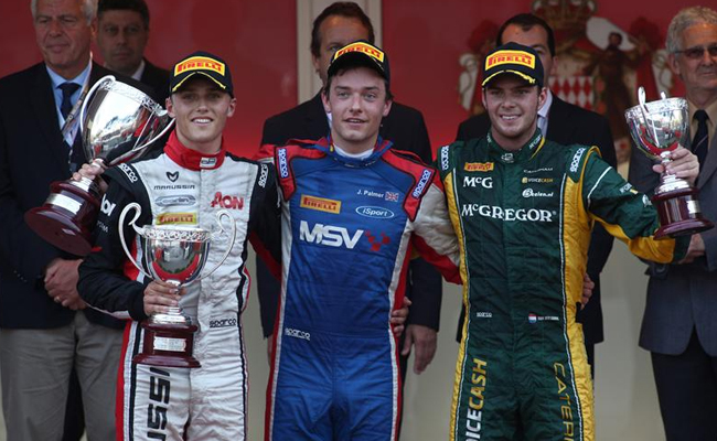 Jolyon Palmer Mónaco GP2 2012