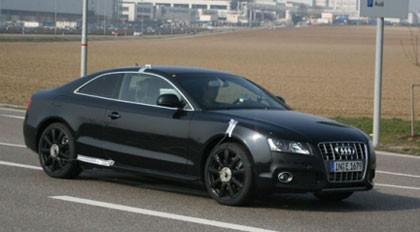 Fotos espía del Audi RS5