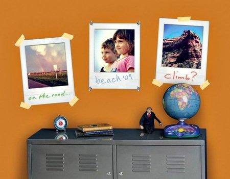 Marcos para fotos estilo Polaroid