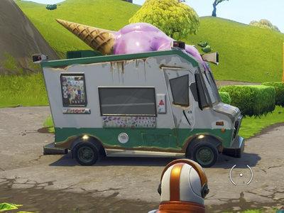 Guía Fortnite Battle Royale: mapa con todos los camiones de helado