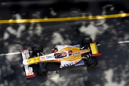 Esperanzador mejor tiempo de Fernando Alonso