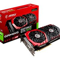 Potencia para gamers con la MSI GeForce GTX 1070 GAMING 8G por 487,92 euros en Amazon