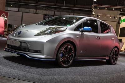Nismo podría lanzar un kit deportivo para el Nissan LEAF