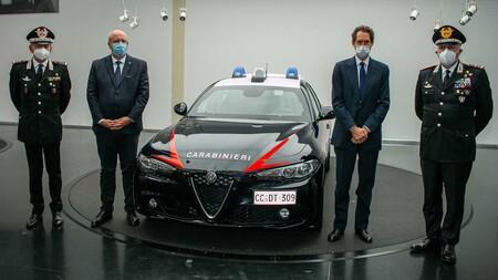 Alfa Romeo Giulia Policia Italiana 2