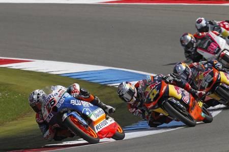 MotoGP Holanda 2012: disputadísima carrera en la que se lleva la victoria Maverick Viñales