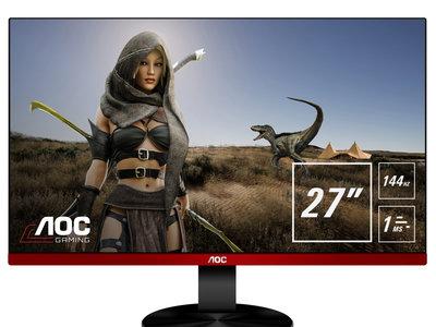 La gama de monitores gaming de AOC crece con tres nuevos integrantes que pasan a formar parte de la serie G90