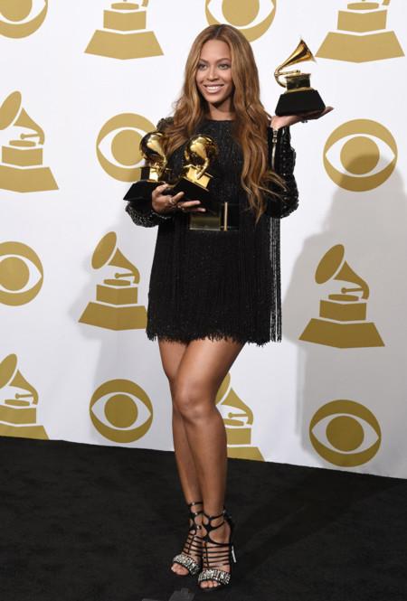 Beyonce Grammy 2015 Balmain