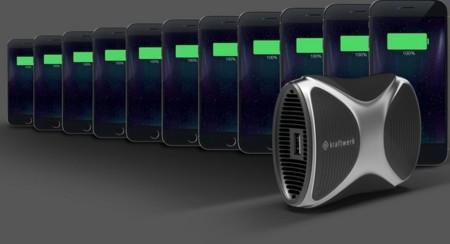 Kraftwerk, una pila de combustible a gas para recargar tu móvil 11 veces