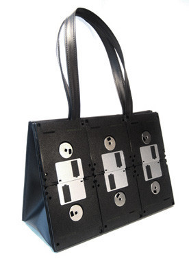 Día de la Madre: bolso diskettes