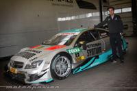 Mercedes-AMG C 63 DTM, cualquier parecido con el de calle es simplemente fibra