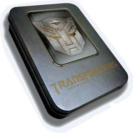 Transformers 2, la película en un USB en edición especial