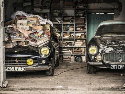 Olvídate de los 'barn finds', ahora los clásicos están en los apartamentos, como este Ferrari 250 GT