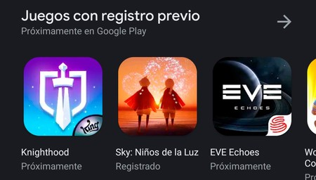 Registro Previo Google Play