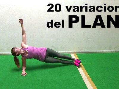20 variaciones del plank que puedes probar ahora mismo