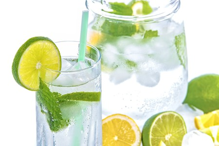 Mineral Water Lime Ice Mint 158821