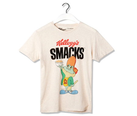 Pull & Bear recupera los personajes de Kellogg's en su nueva colección de camisetas