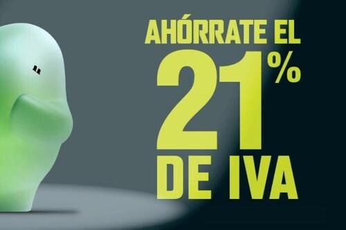 Día sin IVA El Corte Inglés: ahórrate el 21% de IVA en televisores, smartphones, tabletas, portátiles y más